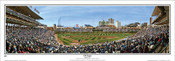 "Chicago Cubs ""100 Years"" Wrigley Field Panoramic Framed Poster"