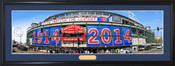 """Chicago Cubs """"Celebrating 100 Years"""" Wrigley Field Panoramic Poster"""