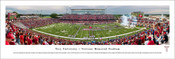 Troy Trojans at Veterans Memorial Stadium Panorama Poster