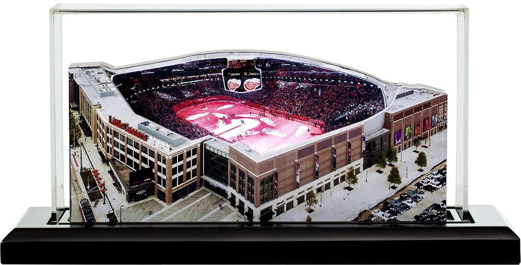 detailed look 60fce 28555 Detroit Red Wings - Little Caesars Arena Stadium 3D Replica