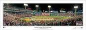 "2018 World Series ""Opening Ceremony"" Fenway Park Panoramic Poster"