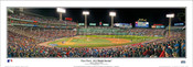 "2018 World Series ""First Pitch"" Fenway Park Panoramic Poster"