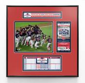 2018 World Series Champions Ticket Frame Jr - Boston Red Sox