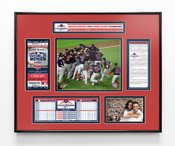 2018 World Series Champions Ticket Frame - Boston Red Sox