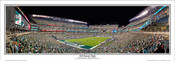 "Philadelphia Eagles ""2018 Banner Night"" Lincoln Financial Field Panoramic Poster"