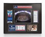 Super Bowl LIII (53) Champions Ticket Frame - New England Patriots