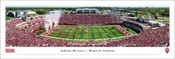 Indiana Hoosiers at Memorial Stadium Panoramic Poster