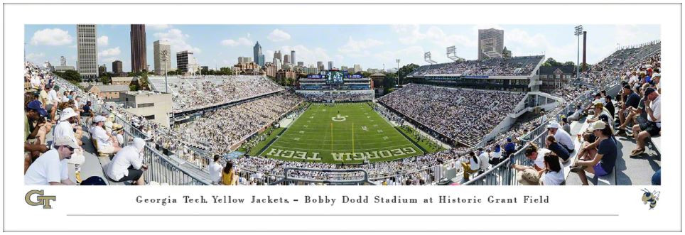 Bobby Dodd Stadium Facts Figures Pictures And More Of The Georgia Tech Yellow Jackets College Football Stadium