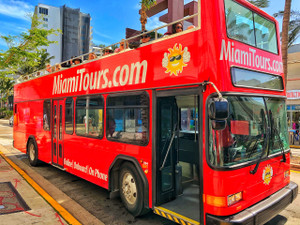 Hop-On Hop-Off Miami Double Decker Bus Tour