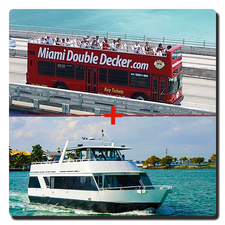 Miami Bus Tour And Miami Boat Tour Combo