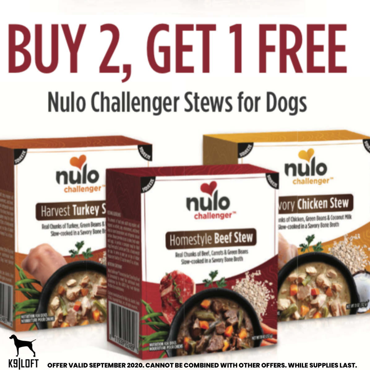 K9 Loft Monthly Coupons!