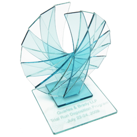 rising phoenix glass award