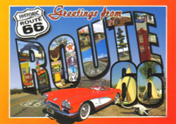 AZ Route 66 Postcard - Pack of 100