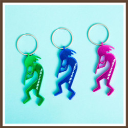 Kokopelli Bottle Opener Keychain