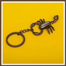 AZ Scorpion Keychain