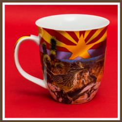 AZ Collage Mug