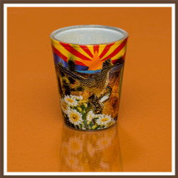 AZ Collage Shotglass