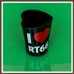 I Heart Rt. 66 Shotglass