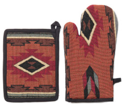 Cibola Oven Mitt  and Pot Holder