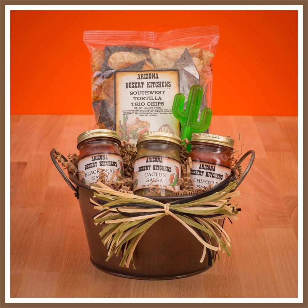 arizona chips and salsa gift basket. Loading zoom