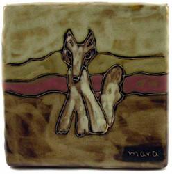 "Mara Tile Trivet 6""X6"" - Coyote"