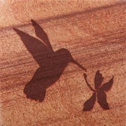 Hummingbird Coasters - Set of 4