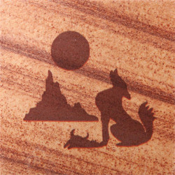 Coyote Coasters - Set of 4