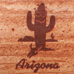 Sweating Saguaro AZ Coasters - Set of 4