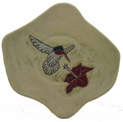 "Mara Dinner Plate 12"" - Desert Hummingbird"