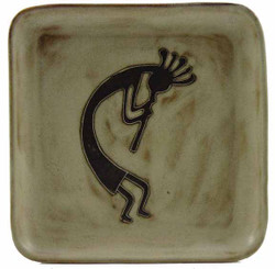 "Mara Salad Plate 8.5"" - Desert Kokopelli"