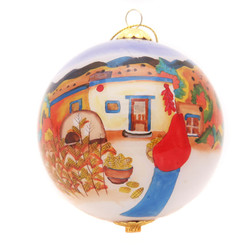 "Fall Harvest - 3"" Ornament Set of 2"