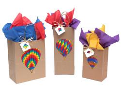 Hot Air Balloon Gift Bag