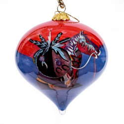 "Echo's of Thunder - 3"" Top Ornament Set of 2"
