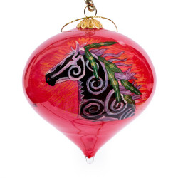 "Desert Winds - 3"" Top Ornament Set of 2"