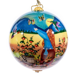 "Butterfly Storyteller - 4"" Ornament Set of 2"
