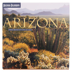 Arizona The Beauty of It All - Hardbound