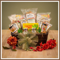 arizona southwest snacks gift basket, trail mix, nuts