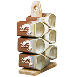 Mug Tree - 12oz Chocolate - Kokopelli