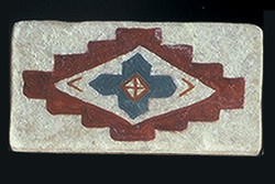 "Native Cross #1 2""x4"" Border Tile"