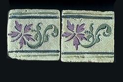 """Wild Herb 2""""x2"""" Border Tile"""