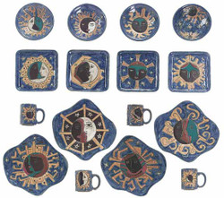Mara Dinner Set 16 Piece - Celestial - FREE SHIPPING