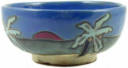 Mara Serving Bowl 72oz - Palm Trees / Beach