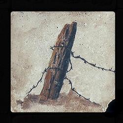 "Old Western #5 4""x4"" Deco Tile"