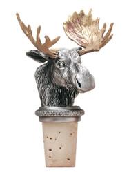 Moose Bottle Stopper