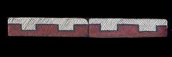 """Navajo Geo #2 Liner 1""""x4"""" Tile"""