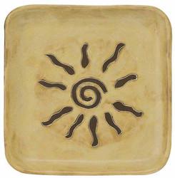 "Mara Square Plate 8"" - Southwest"