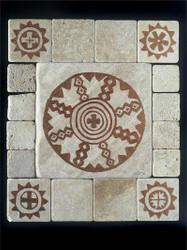 Apache Stone Tile - Sampler Display