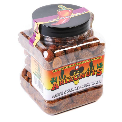 Chili Smoked Almonds 10oz-Case of 12