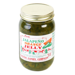 Jalapeno Orange Jelly 10oz-Case of 12