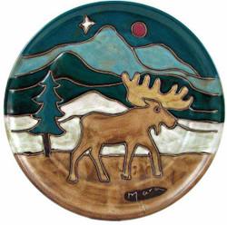 "Mara Platter 12"" - Moose"